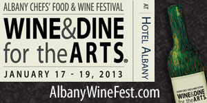 Albany Chefs' Food & Wine Fest: Wine & Dine For The Arts 2013
