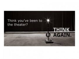 We're Taking 'Creative License' With Your Theatregoing Experience…