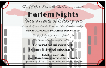 "July L.O.W. Down @ The Barn Brings ""Harlem Nights"" Vibe To The Table"