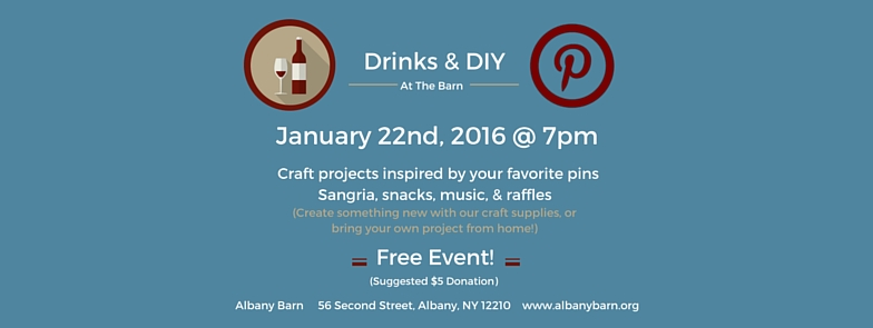 Beat The Winter Blues At Our Next Drinks & DIY Event This Friday!