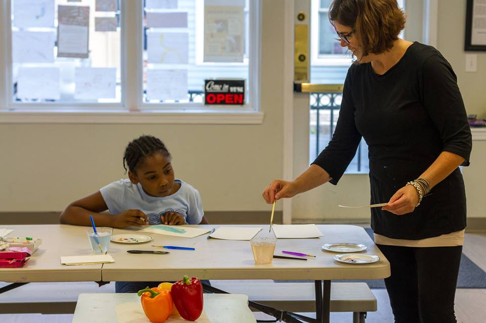 Kid's Art Class Moved To Tuesday 11/17