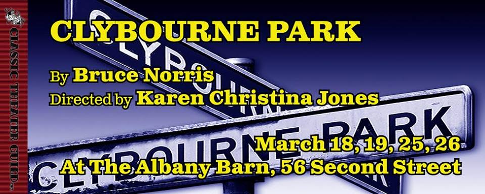Classic Theater Guild's CLYBOURNE PARK Opens One Week From Today At The Barn!