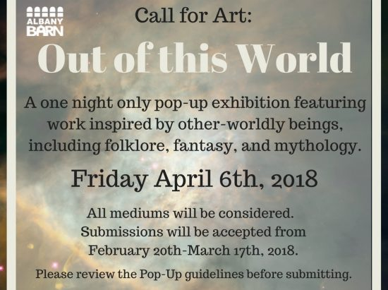 First Friday: Out of this World Pop-Up Exhibition