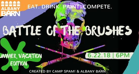 Battle of the Brushes: Summer Vacation @ Albany Barn