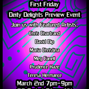 Deity Delights Soft Opening This Friday Night!