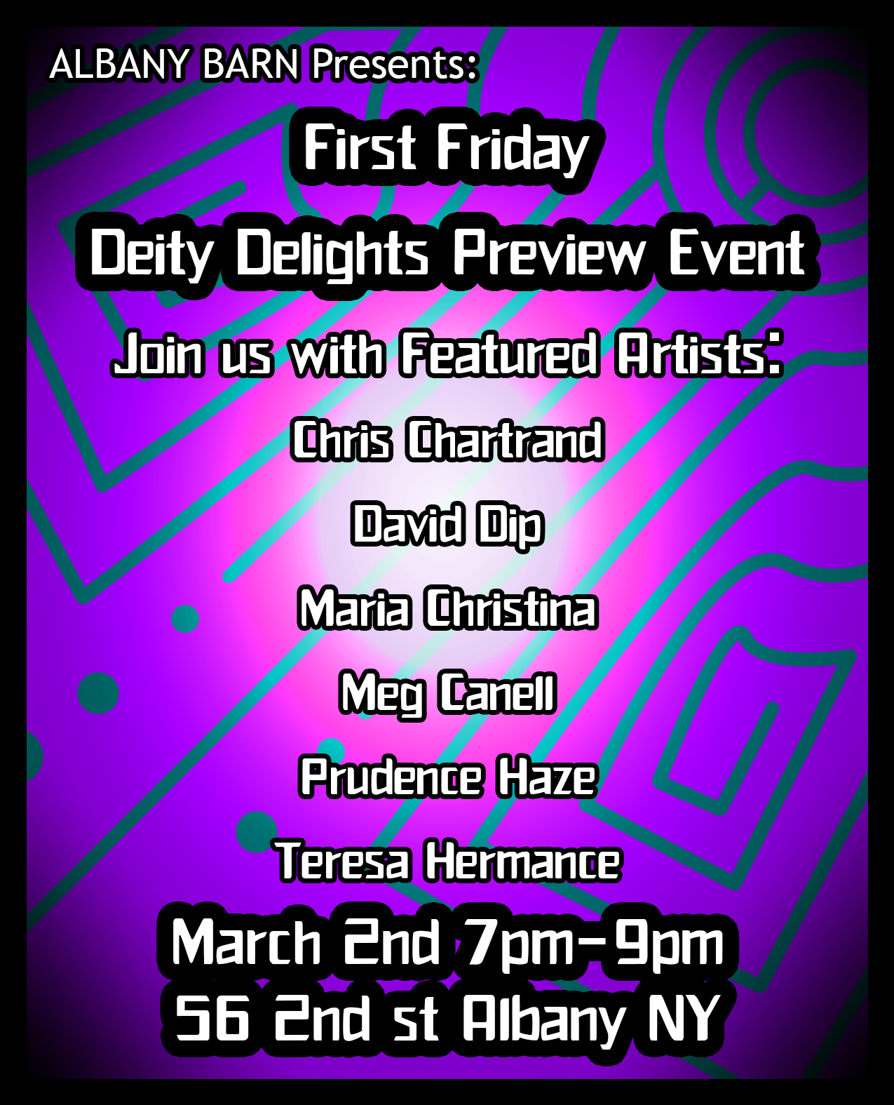 Deity Delights Preview Event