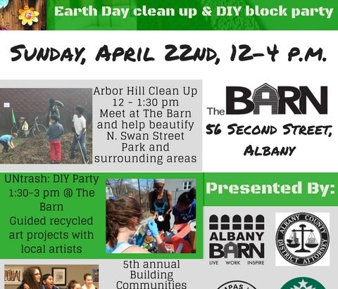 Earth Day Extravaganza @ The Barn @ Albany Barn