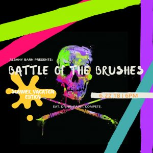 See You Tomorrow At Battle Of The Brushes!