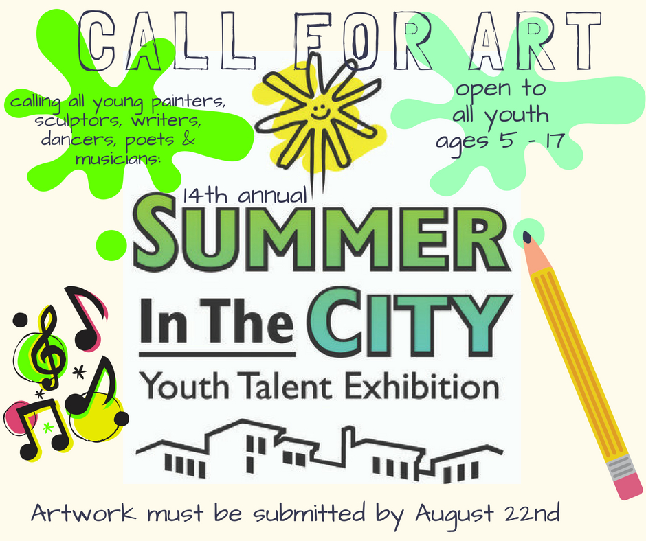Summer In The City 2018: A Call For Art