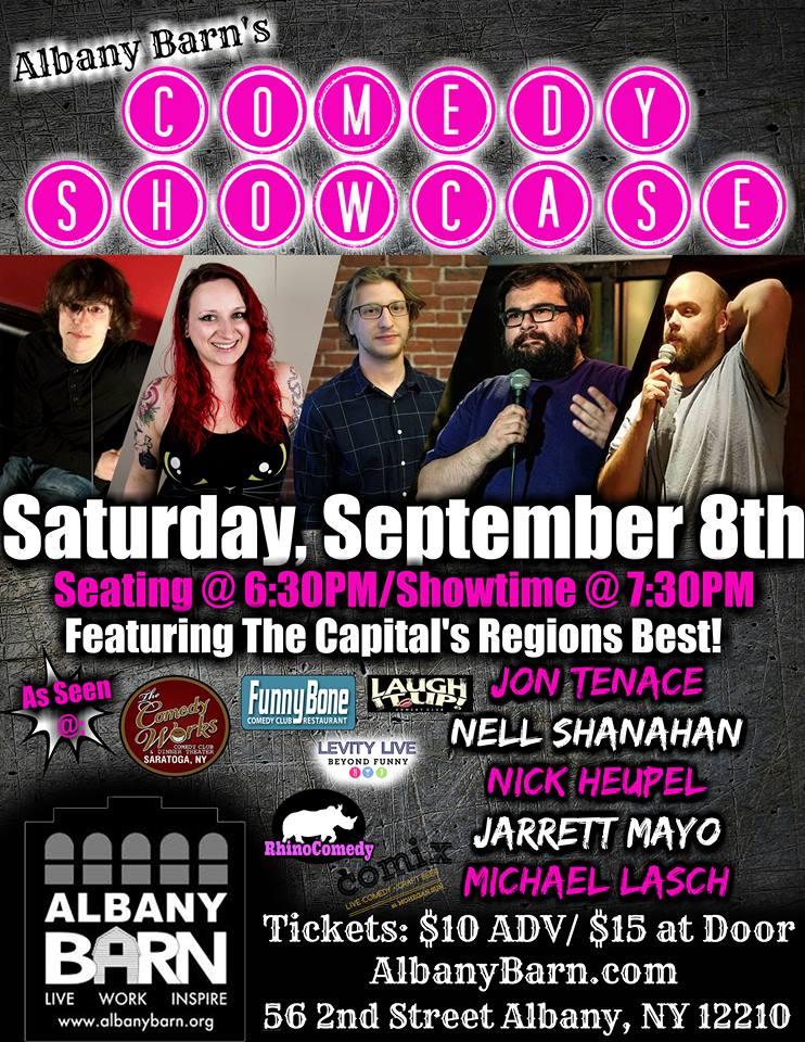Albany Barn's Comedy Showcase