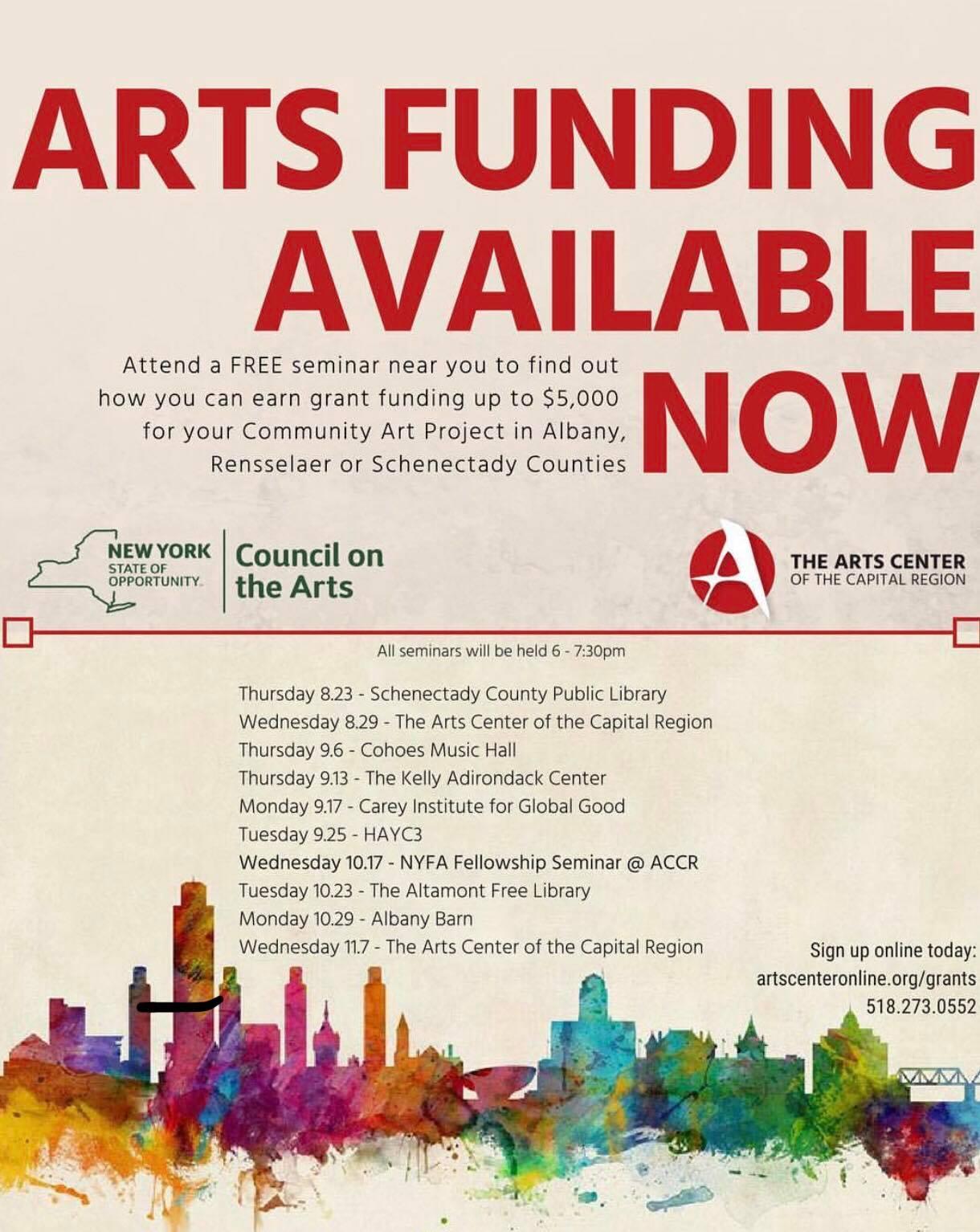 Art Funding Seminar