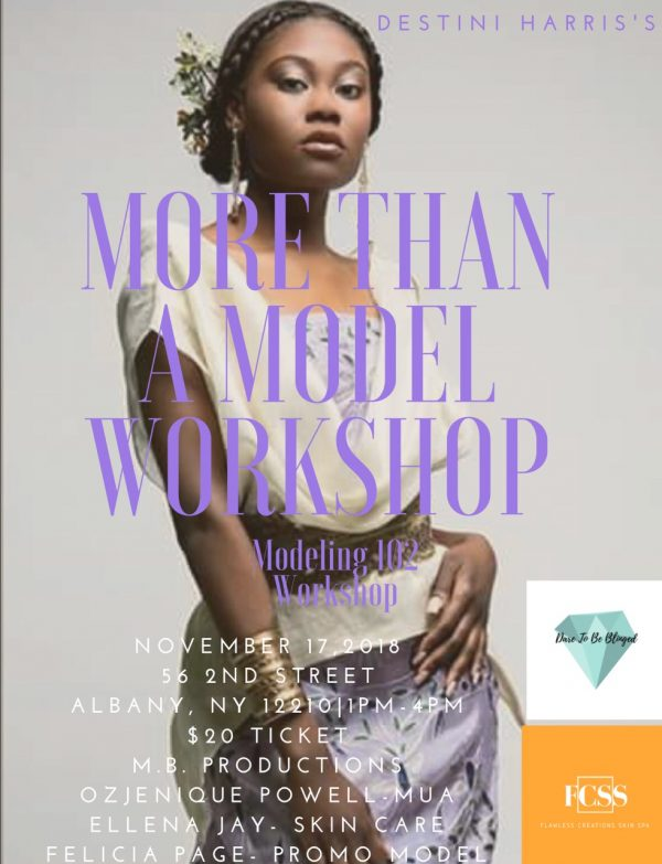 More Than A Model Workshop With Destinii Harris