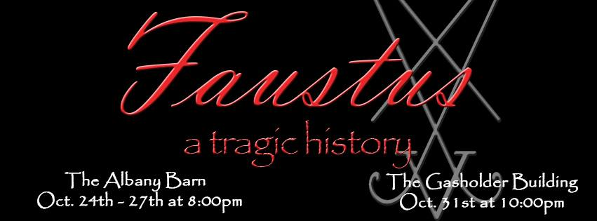 Faustus: A Tragic History, Presented By Will Kempe's Players