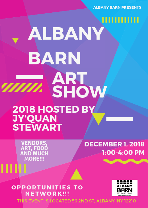 Albany Barn's Art Show, Hosted By Jy'Quan Stewart!