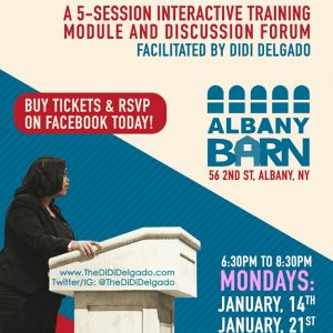 """The Barn Presents: Dismantling Racism (And All The Other """"Isms"""") With DiDi Delgado"""