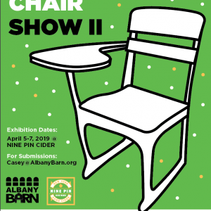 Call For Art: Chair Show II @ Nine Pin Cider!
