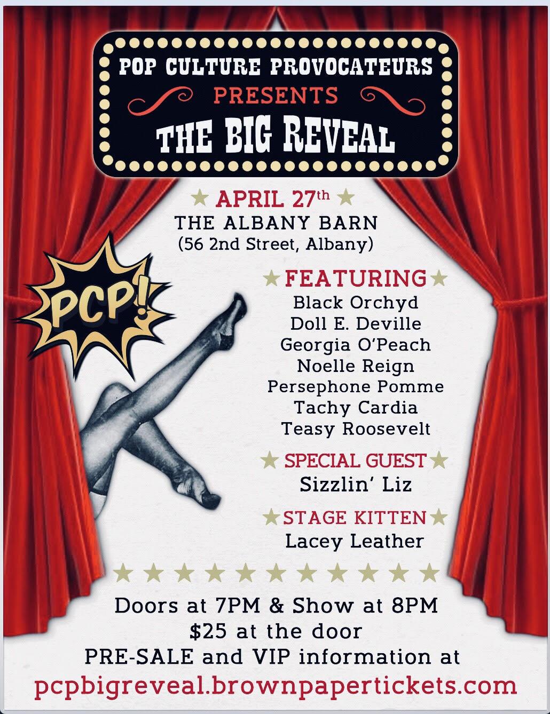 Pop Culture Provocateurs Presents: The Big Reveal!
