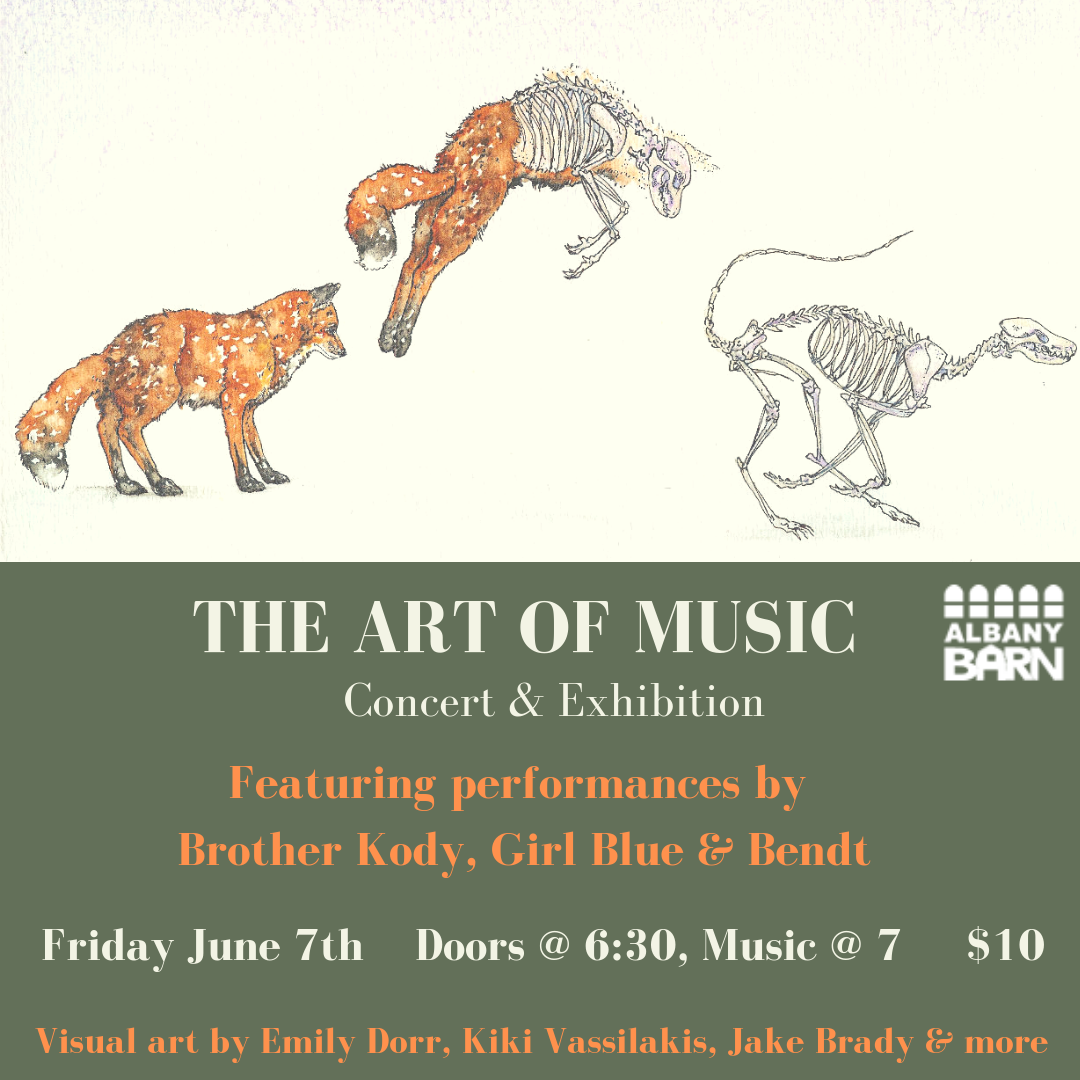 """First Friday, June 7th """"The Art Of Music: Concert And Art Exhibiton"""""""