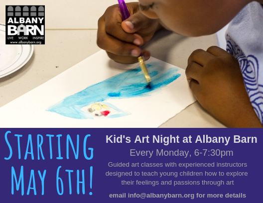 Kid's Art Class Is Back!