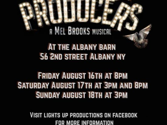 Lights Up Productions presents: The Producers