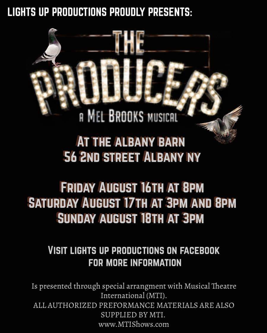 Lights Up Productions Presents: The Producers!