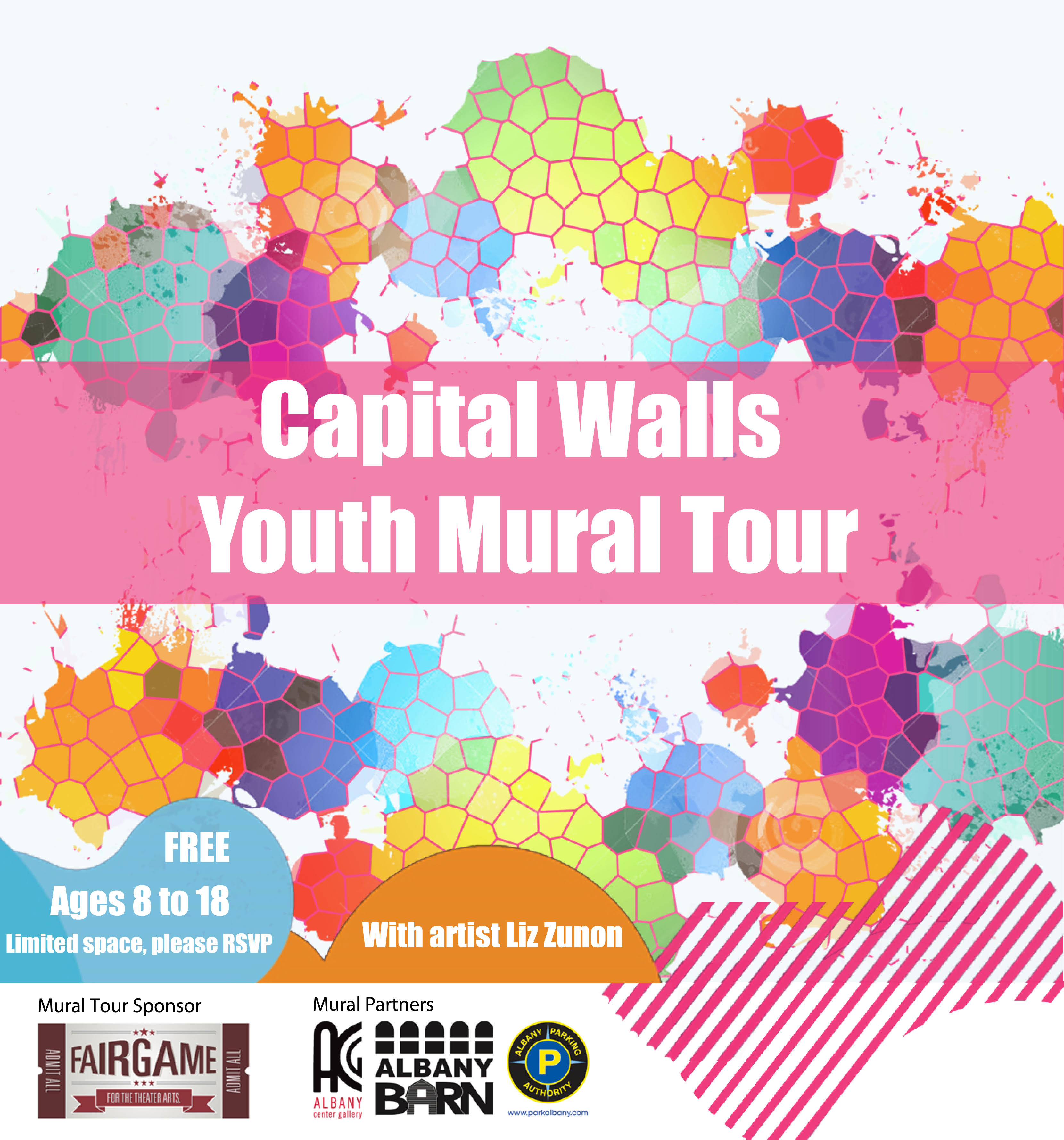 Announcing The First Capital Walls Youth Mural Tour!