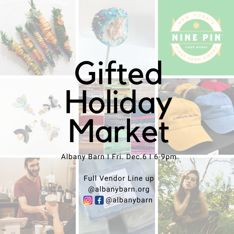 Gift Holiday Market Vendor List!