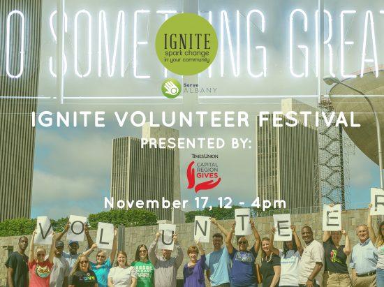 Ignite Volunteer Festival @ Albany Capital Center