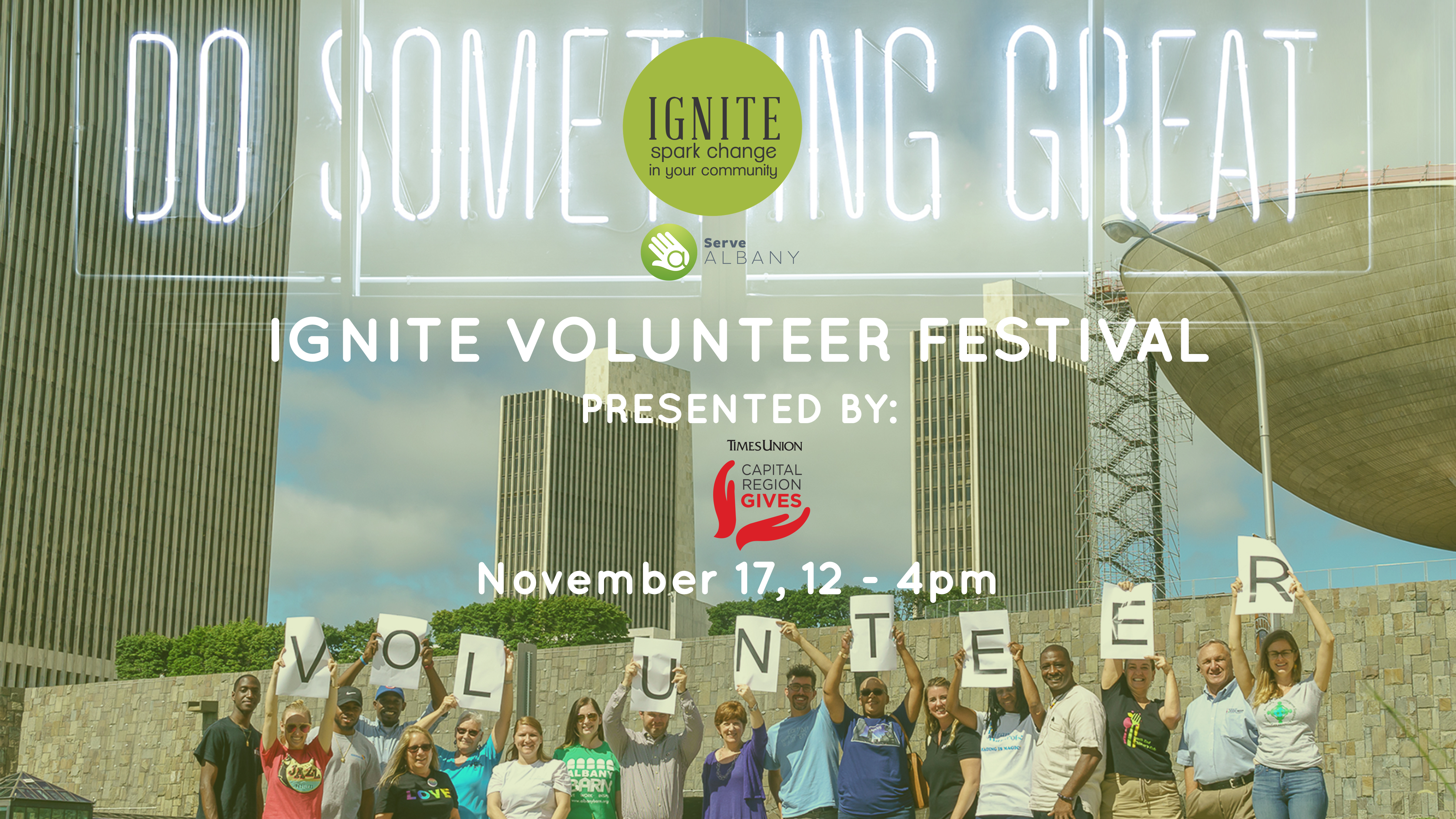 Ignite Volunteer Festival