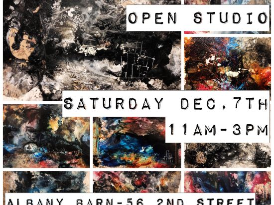 Alex Waters open studio @ Albany Barn