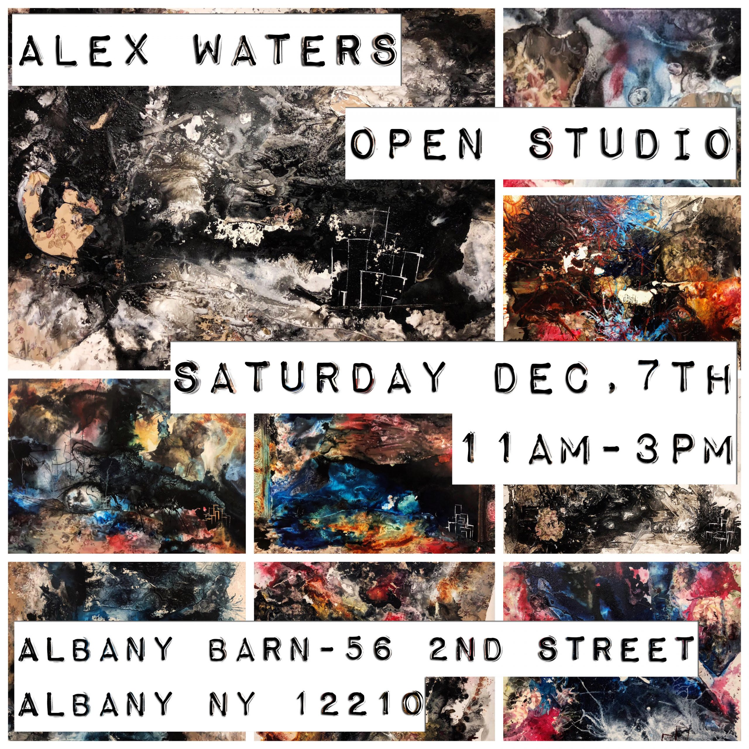 Alex Waters Open Studio