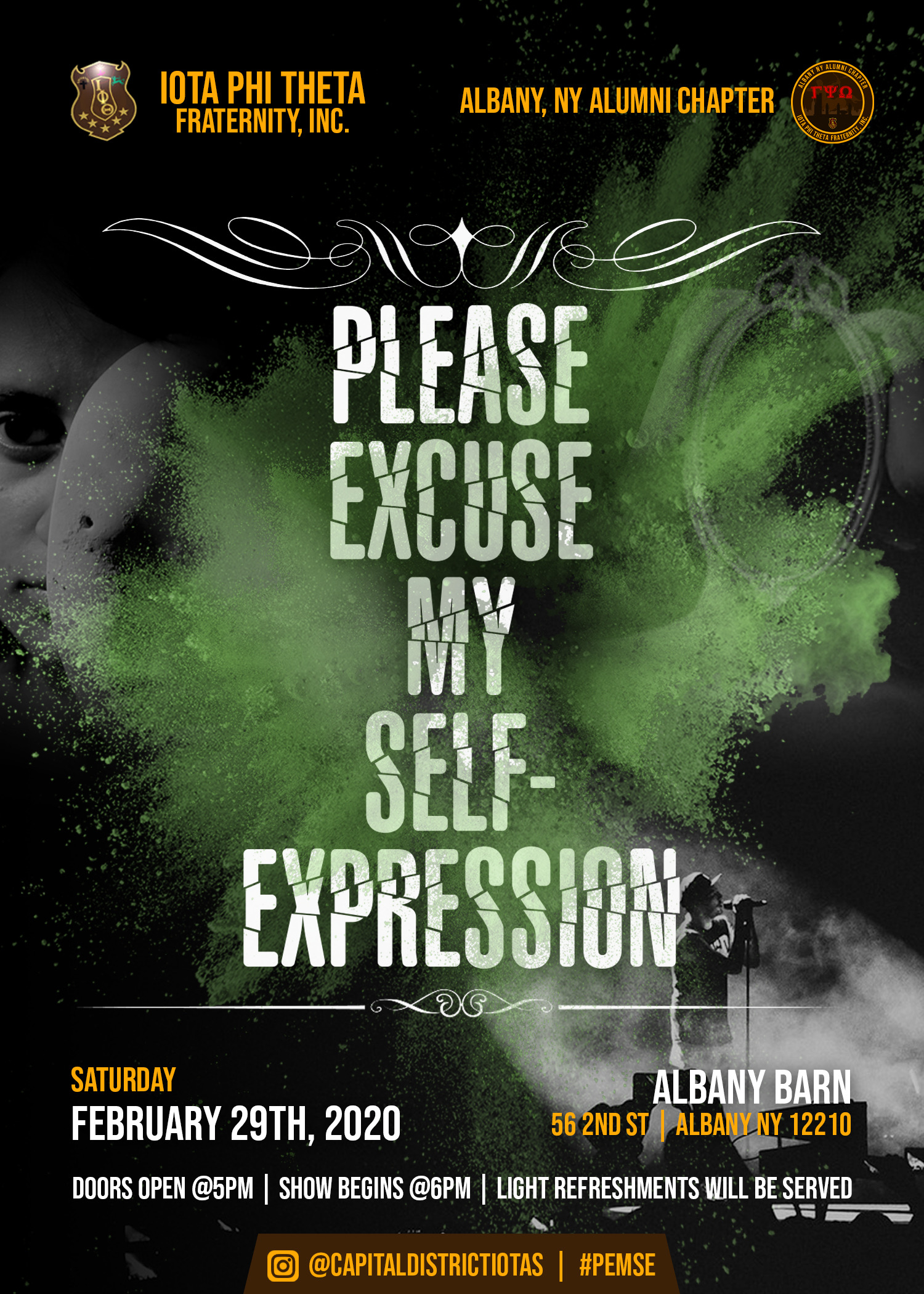 Tickets Now Available For Please Excuse My Self Expression Presented By Gamma Psi Omega Alumni Chapter