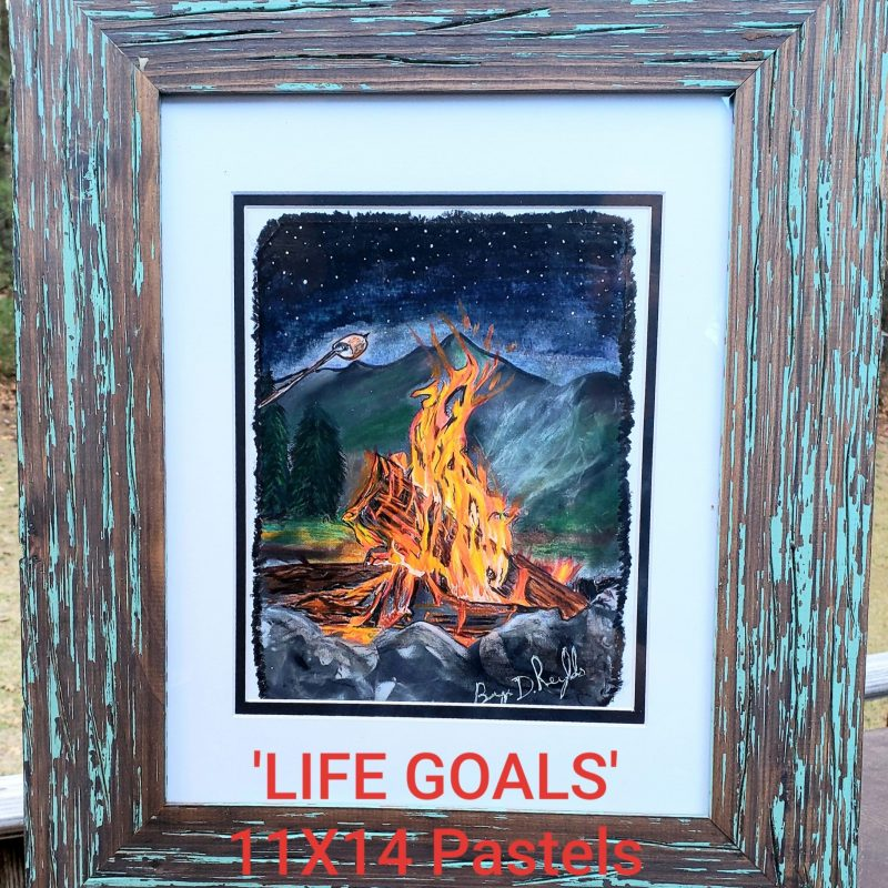 LIFE GOALS By Bryn D Reynolds