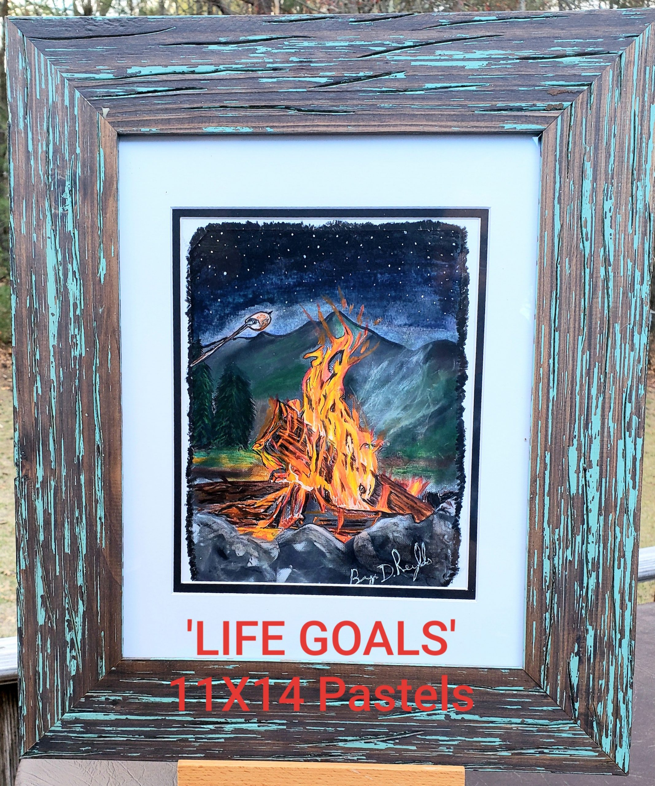 LIFE GOALS By Bryn D Reynolds