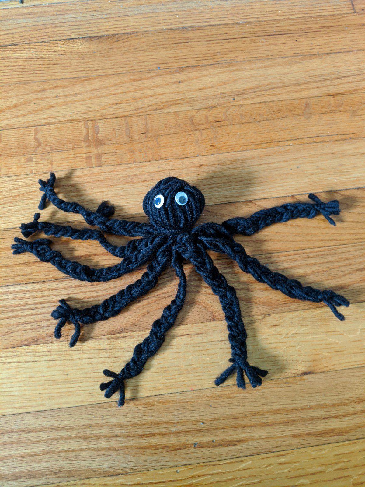 Braided Yarn Octopus