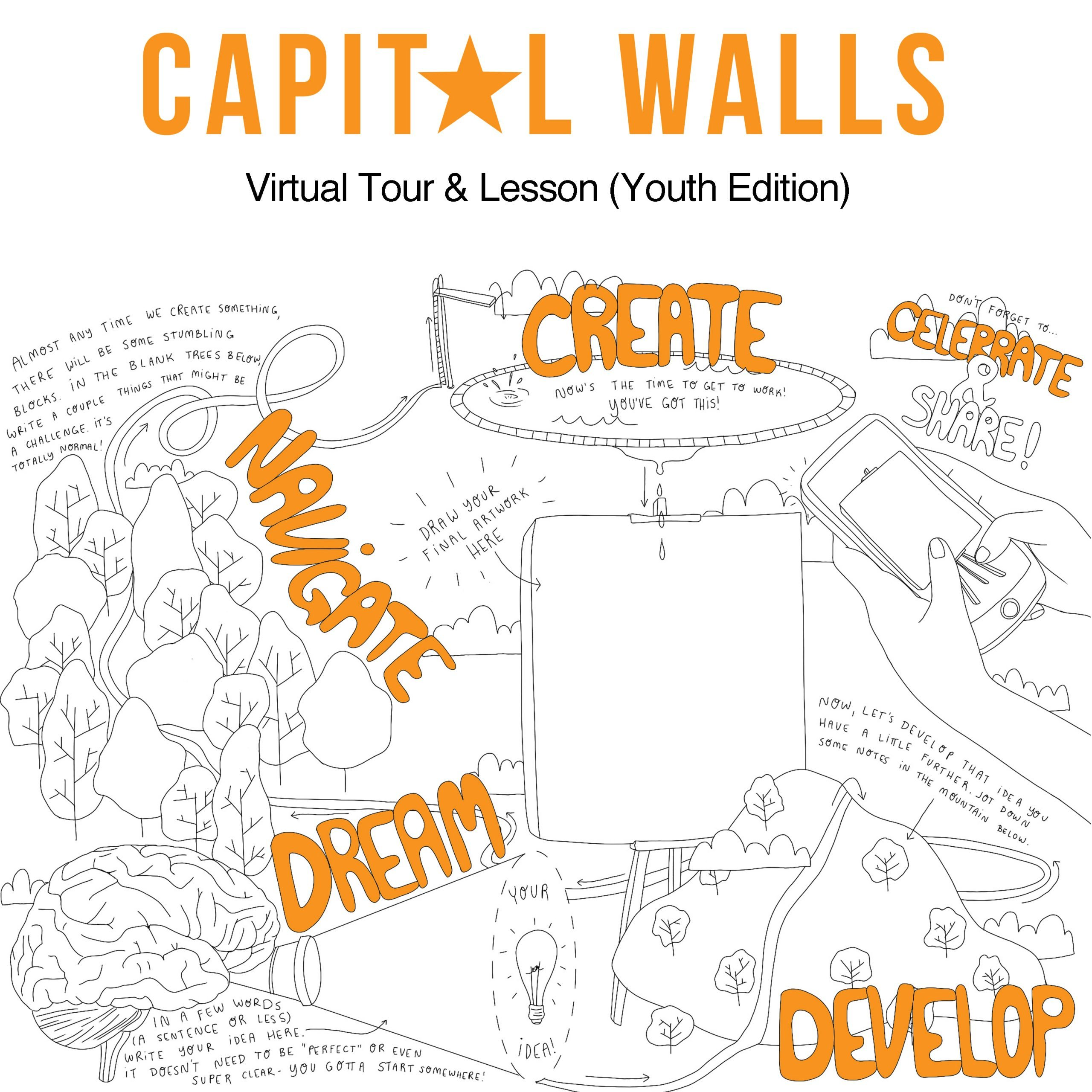 Capital Walls Virtual Tour & Lesson (Youth Edition!) Coming June 26th!