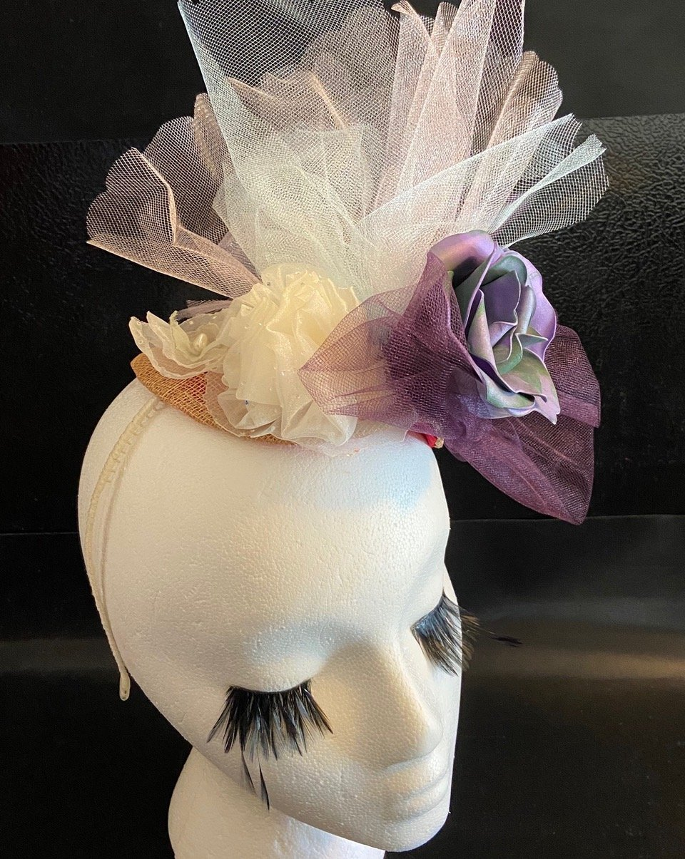 Grace Handmade Fascinator By Karen Sewell