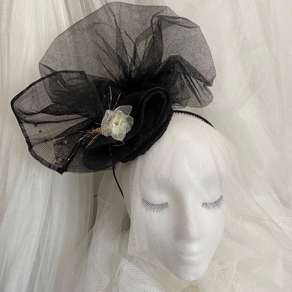 Cassia Pia Handmade Fascinator By Karen Sewell