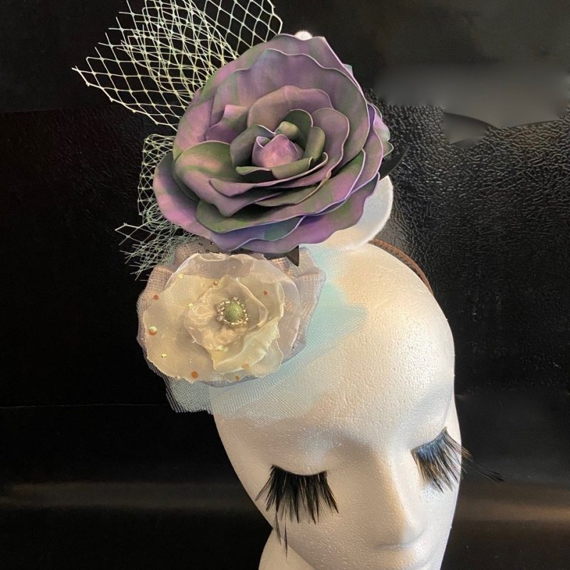 Sweet Brier Handmade Fascinator By Karen Sewell