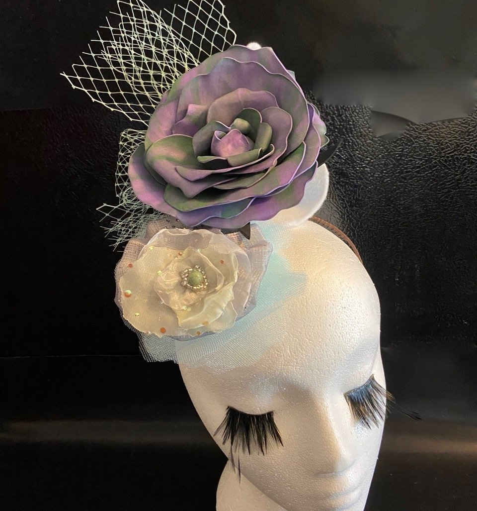 Sweet Brier Handmade Fascinator By Karen Sewell