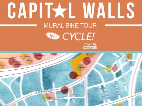 2nd Annual Capital Walls Mural Bike Tour @ Albany Center Gallery