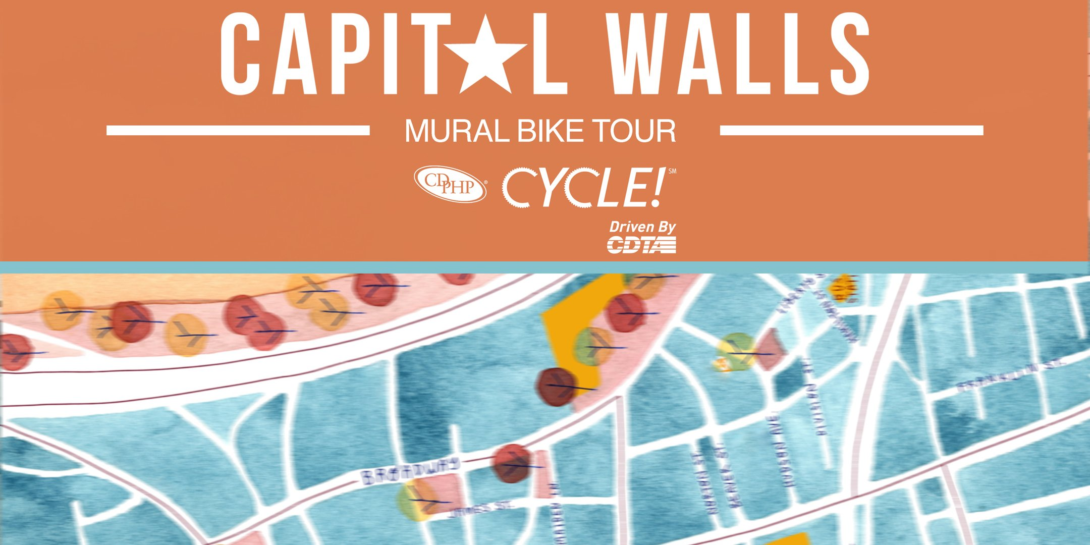 2nd Annual Capital Walls Mural Bike Tour