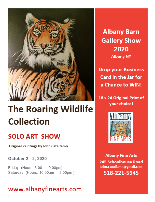 """THE ROARING WILDLIFE COLLECTION"" BY JOHN CATALFAMO"