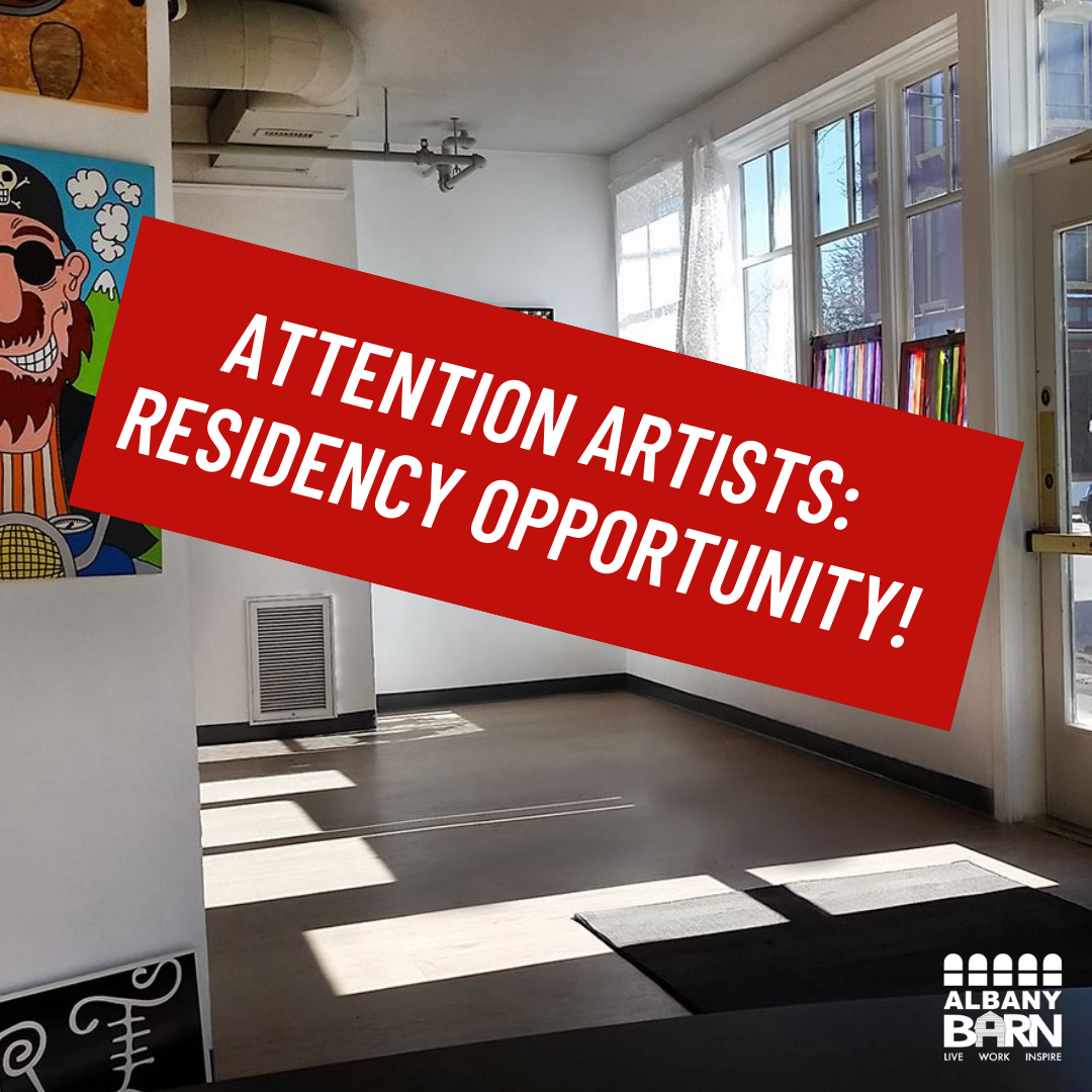 Artist Residency Opportunity @ The Barn's Stage 1 Gallery!