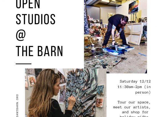 Open Studios @ Albany Barn