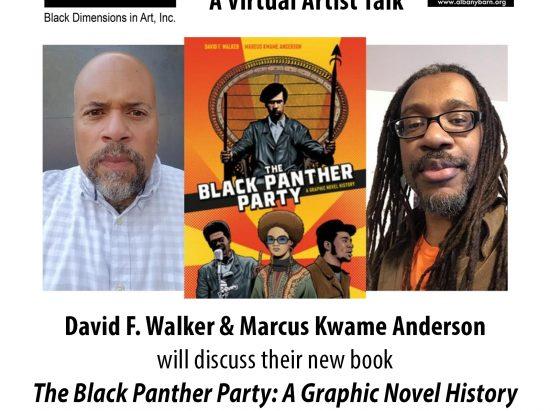 Black Dimensions In Art, Inc. present Conversations: David F. Walker & Marcus Kwame Anderson