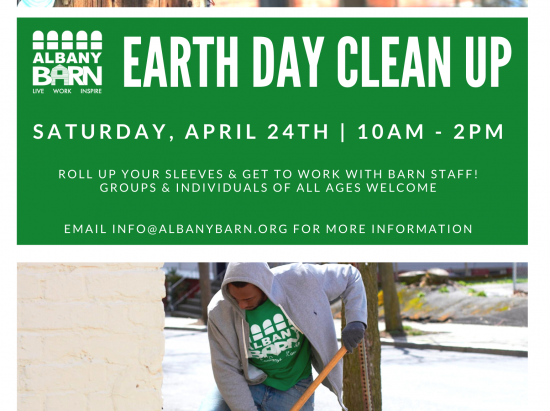 Earth Day Neighborhood Clean Up @ Albany Barn