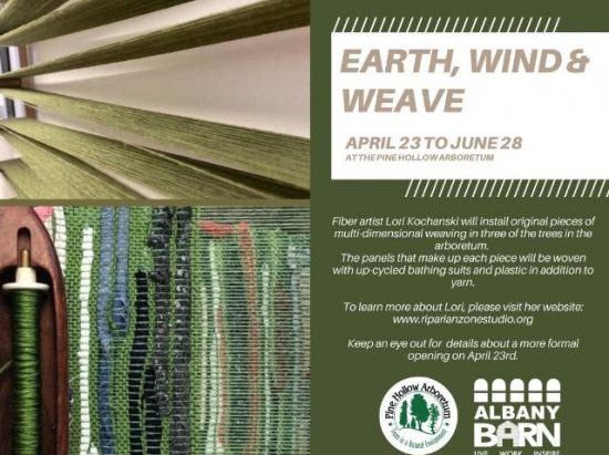 Earth, Wind & Weave by Lori Kochanski: Opening Reception @ Pine Hollow Arboretum