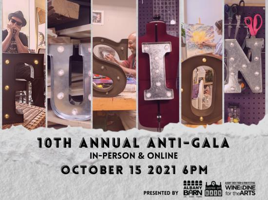 10th annual FUSION anti-gala @ Albany Barn